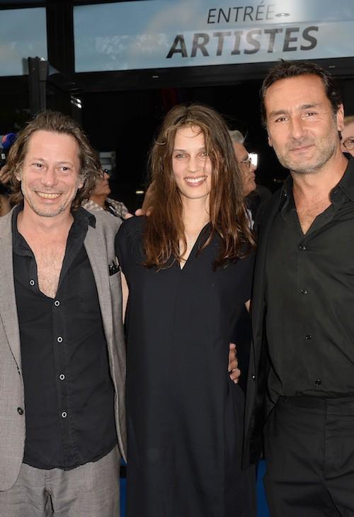 Mathieu Almaric, Marina Vacth, Gilles Lellouche au Festival du film francophone d'Angoulême, le 25 août 2015