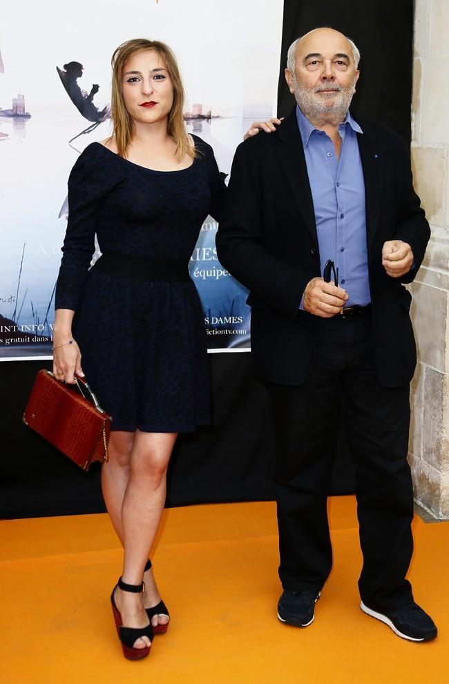 Marilou Berry et Gérard Jugnot le 13 septembre 2012 à La Rochelle