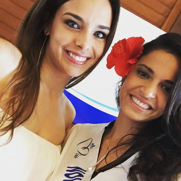 Photos : Marine Lorphelin : bikini ou combi, toujours sexy la Miss en Nouvelle-Calédonie !