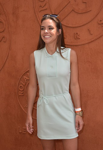 Marine Lorphelin à Roland-Garros le 31 mai 2014