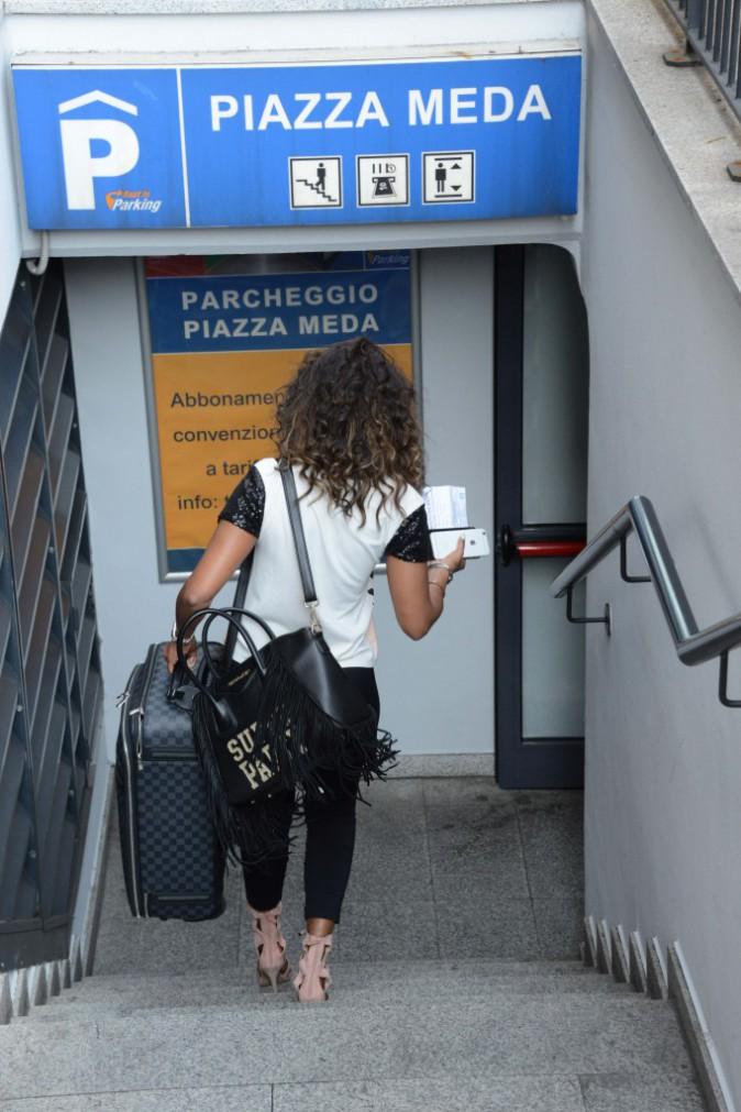 Photos : Mario Balotelli et Fanny Neguesha se retrouvent à Milan !