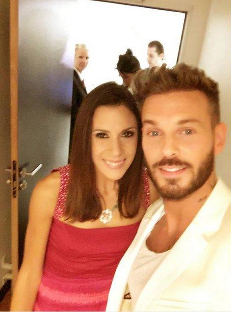 Marion Bartoli et M Pokora aux NRJ Music Awards