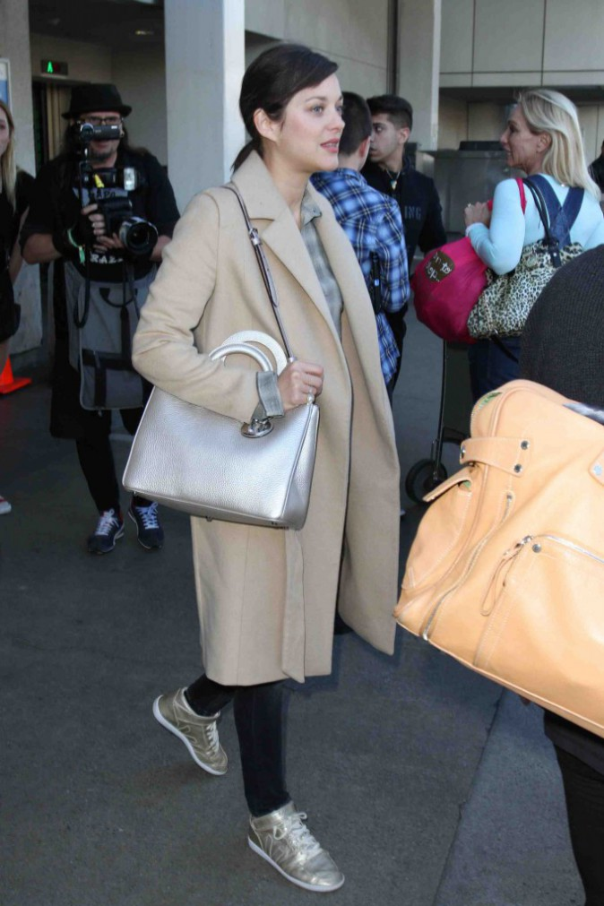 Marion Cotillard : bye bye New York... Hello Los Angeles !
