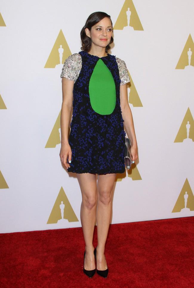 Marion Cotillard au déjeuner des nommés aux Oscars organisé à Beverly Hills le 2 février 2015