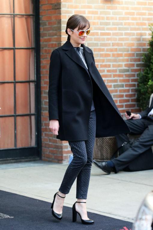 Marion Cotillard à New-York le 6 mai 2014