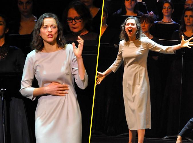 Photos : Marion Cotillard : Jeanne d'Arc envoûtée pour ses débuts à l'opéra !