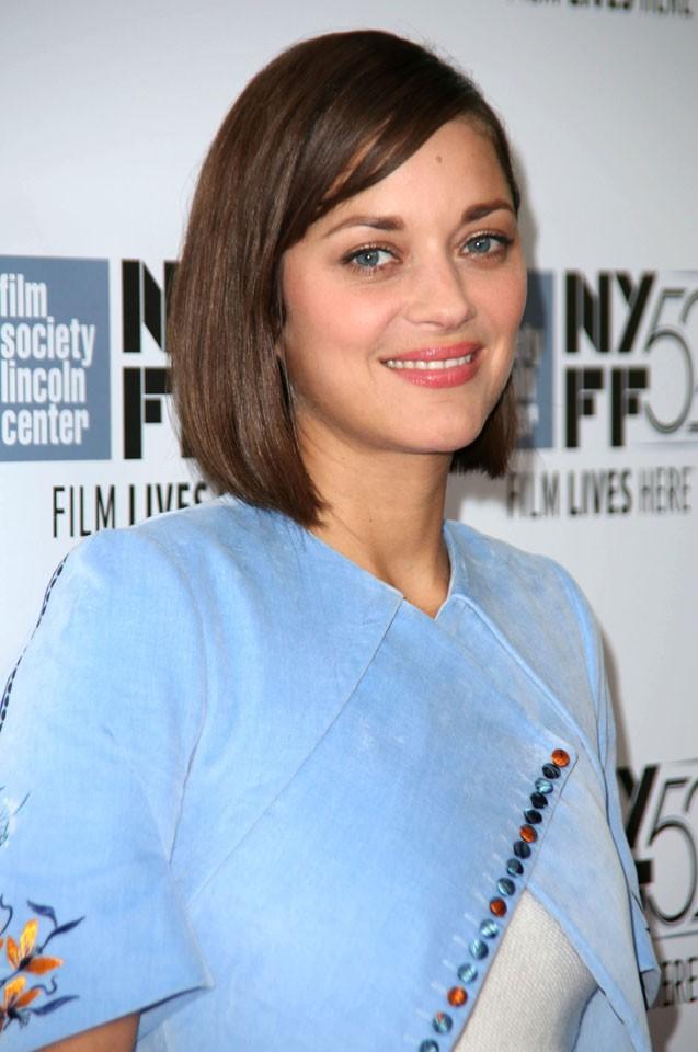 Marion Cotillard au Festival du Film de New-York le 5 octobre 2014