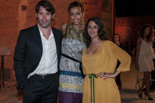 Jalil, Sonia et Géraldine