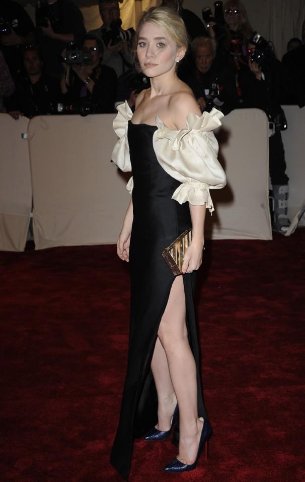 Ashley Olsen au Met Ball, le 2 mai 2011 à New York.