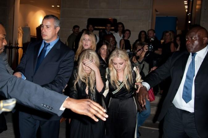 Mary-Kate et Ashley Olsen à Paris, le 29 september 2011.