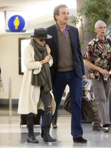 Mary-Kate Olsen et Olivier Sarkozy, inséparables