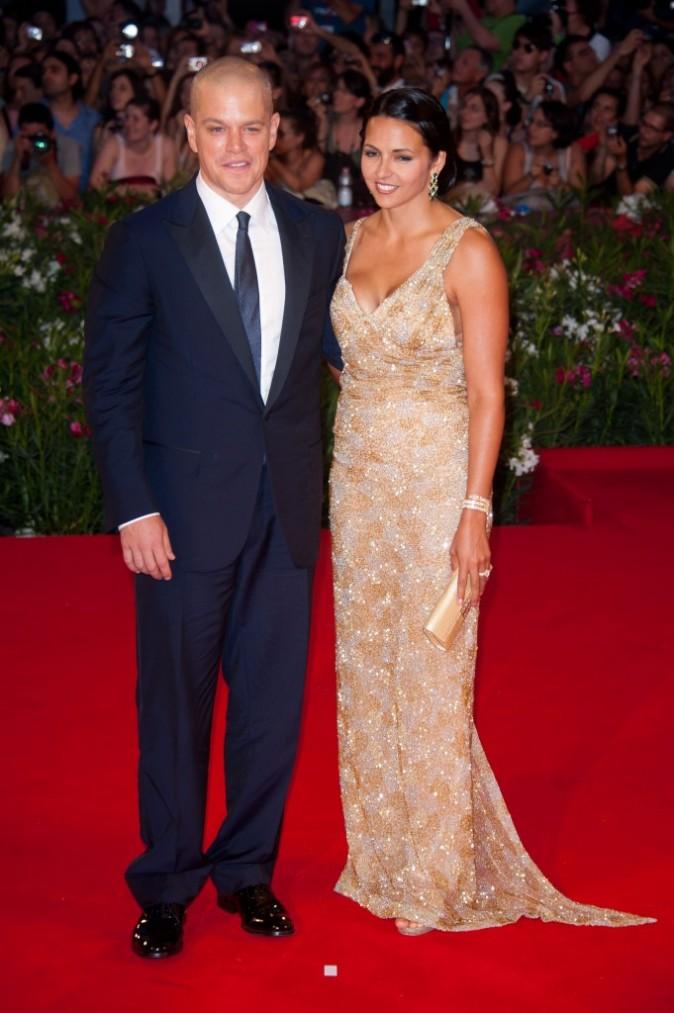 Avec sa femme Luciana Barroso...