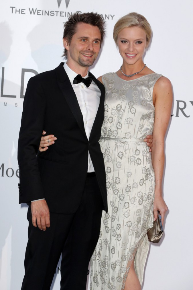 Photos : Matthew Bellamy officialise avec sa dulcinée, sosie de son ex Kate Hudson !