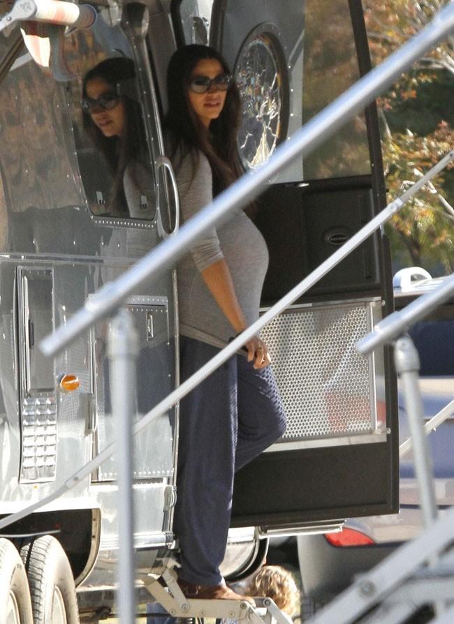 Camila Alves sur le tournage de The Dallas Buyers Club à La Nouvelle-Orléans le 19 novembre 2012
