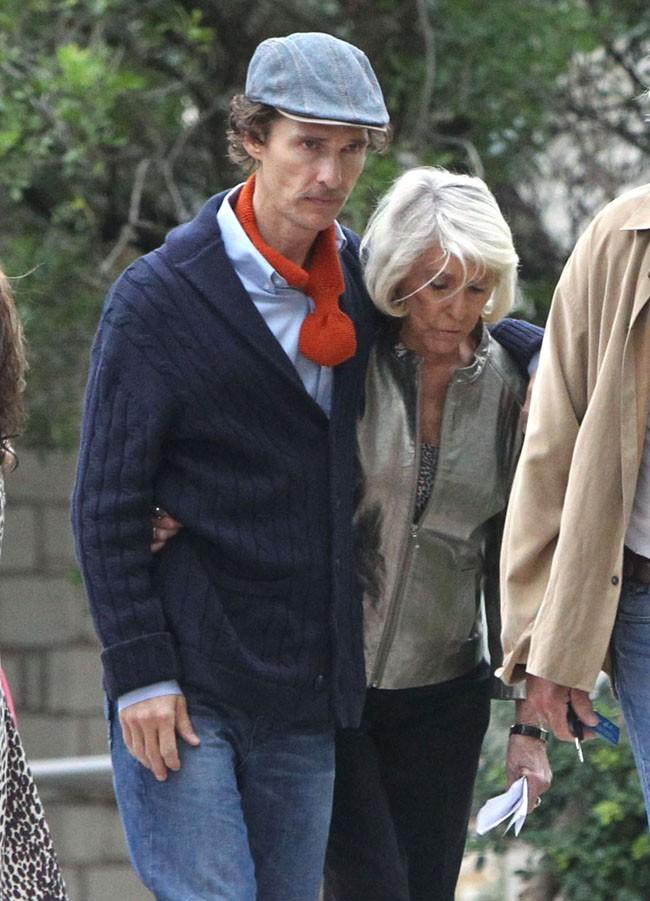 Matthew McConaughey le 7 octobre 2012 à Austin, au Texas