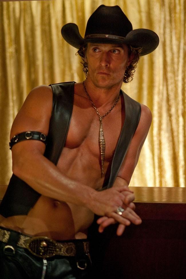 Matthew McConaughey, musclé dans Magic Mike