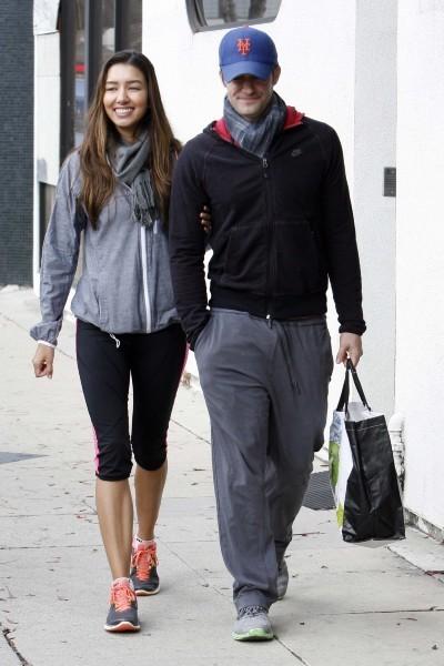 Matthew Morrison et Renee Puente le 6 janvier 2013 à Los Angeles