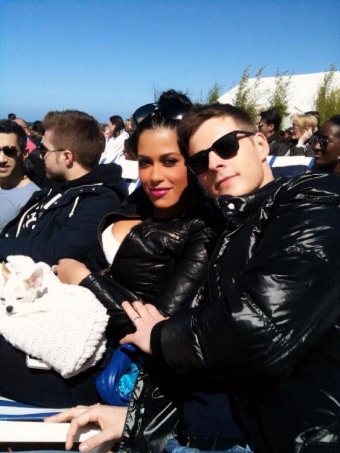 Matthieu Delormeau et Ayem semblent heureux au soleil...