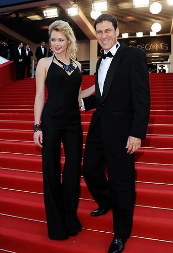 Maud aux côtés de Rudi Garcia, le 24 mai 2012 au Festival de Cannes !