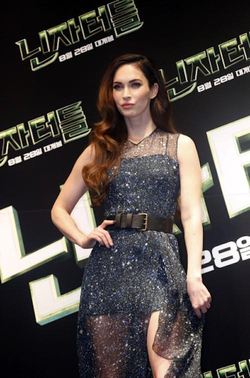 Photos : Megan Fox : doublement sexy pour présenter Tortues Ninja, elle refuse l'étiquette de potiche !