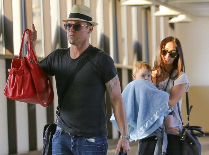 Photos : Megan Fox et Brian Austin Green : rare sortie en famille avec leur petit Bodhi !