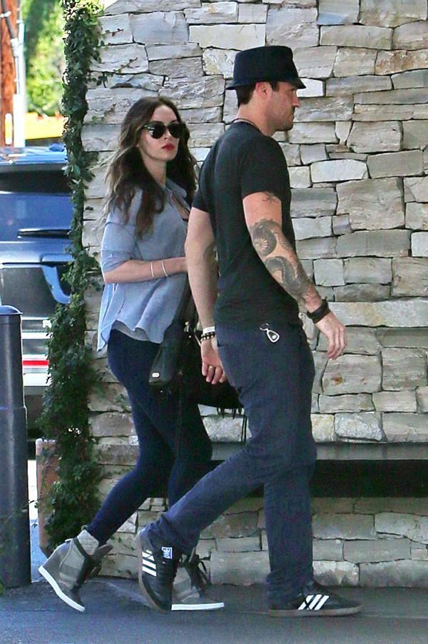 Megan Fox et Brian Austin Green à Los Angeles le 13 novembre 2013