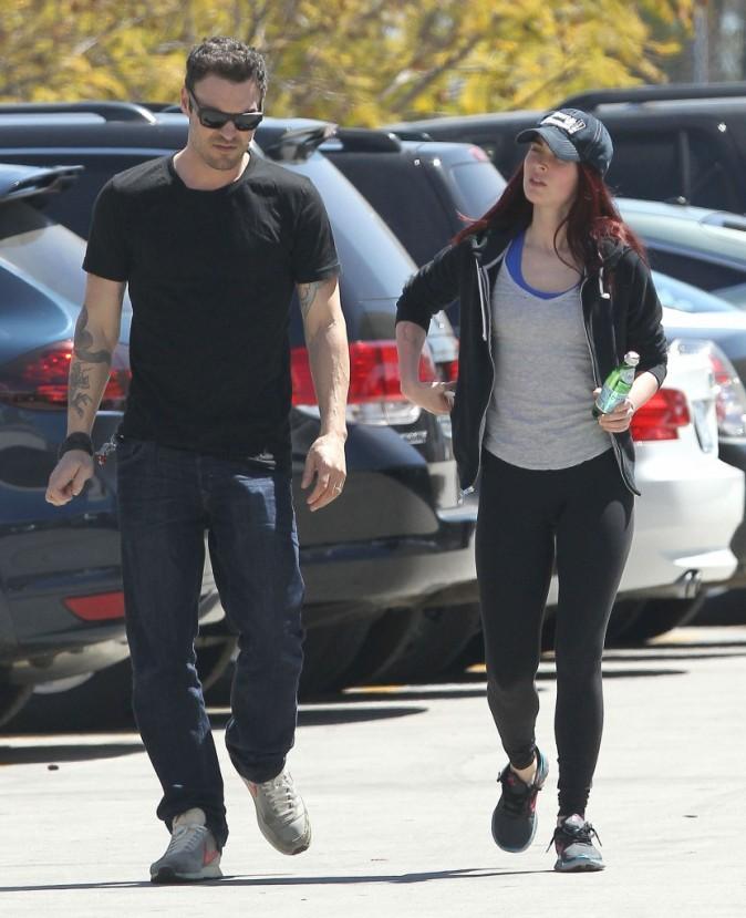Megan Fox et Brian Austin Green, dimanche