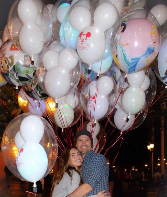 Megan Fox : retour en enfance au pays de Mickey et Minnie !