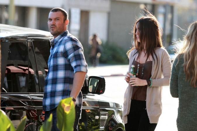 Brian Austin Green et Megan Fox à la sortie de l'église !