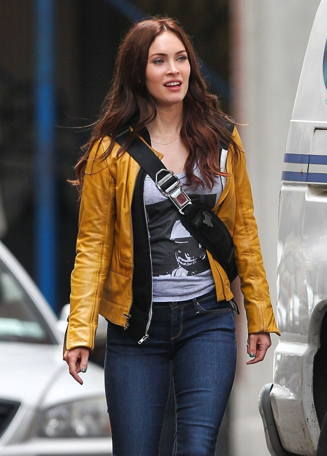 Megan Fox le 9 mai 2013 à New York
