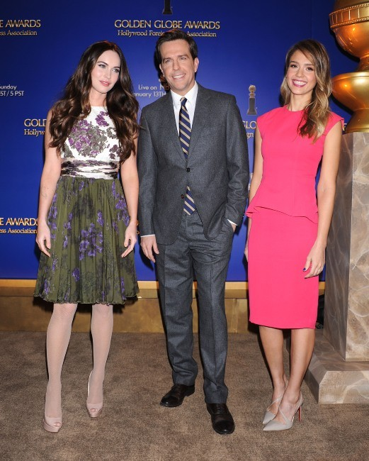 Jessica Alba et Megan Fox, Los Angeles, 12 décembre 2012.