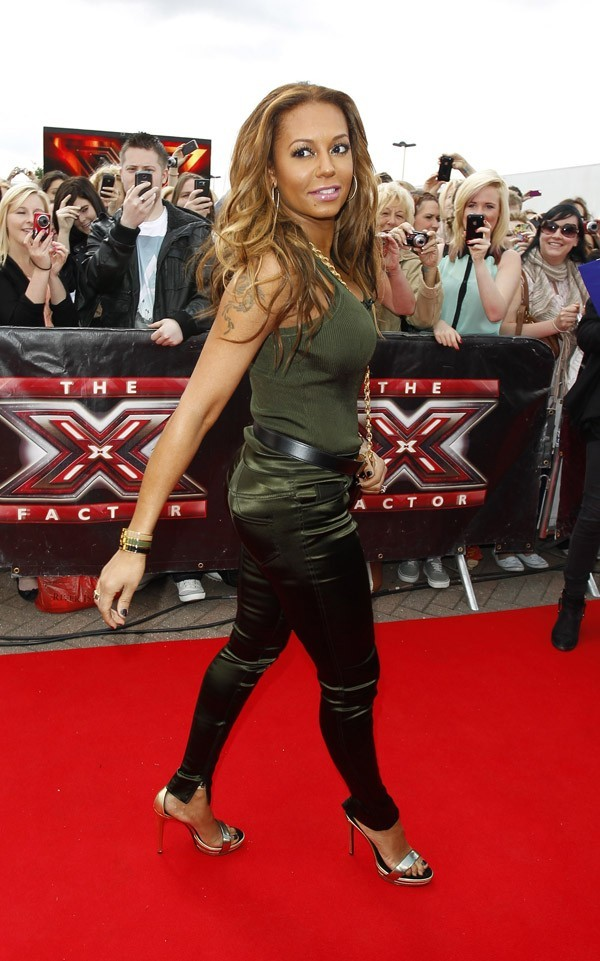 Mel B en route pour les auditions de X Factor uk !