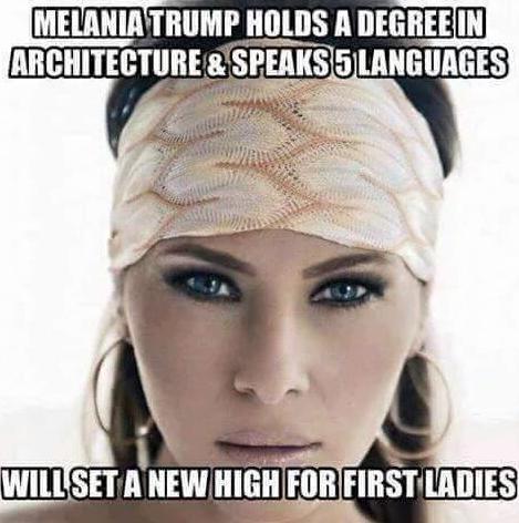 Les internautes s'en prennent à Melania Trump sur les réseaux sociaux