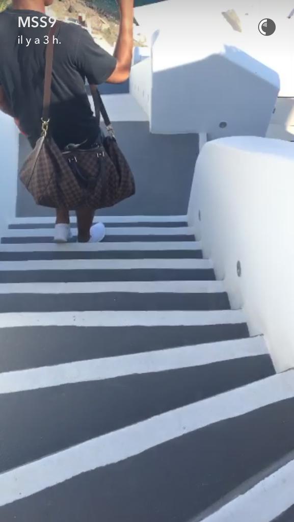Mélanie Da Cruz et Anthony Martial sont en vacances en Grèce
