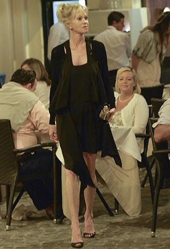Melanie Griffith à Rome le 22 juin 2014