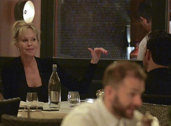 Melanie Griffith et Matt Dillon à Rome le 22 juin 2014