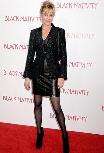 Melanie Griffith à New-York le 18 novembre 2013