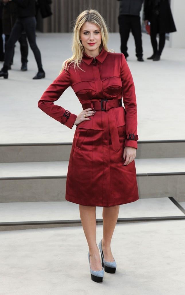 Mélanie Laurent le 18 février 2013 à Londres