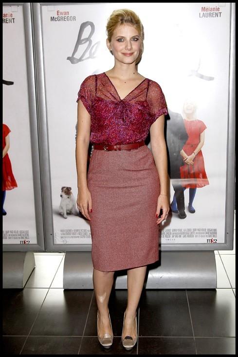 Mélanie Laurent lors de la première du film Beginners, le 7 juin à Paris.