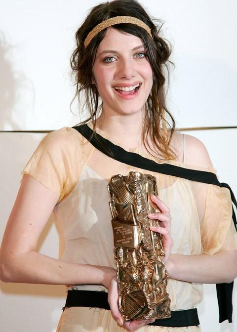 Brune, aussi, pour recevoir son César du meilleur espoir féminin en 2007