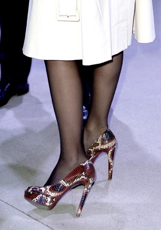 Des chaussures qui font mal aux pieds !