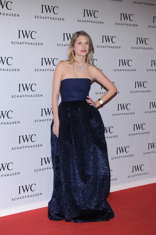 Mélanie Laurent lors du gala IWC à Genève, le 21 janvier 2014.