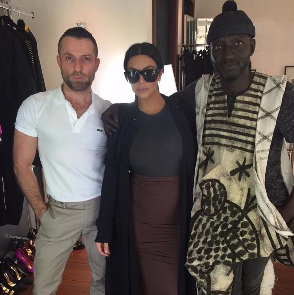 Kim Kardashian le 21 juillet 2015