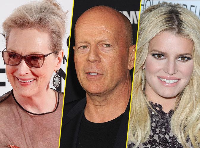 Meryl Streep, Bruce Willis, Jessica Simpson : Ces stars couronnées reines et roi du bal de promo