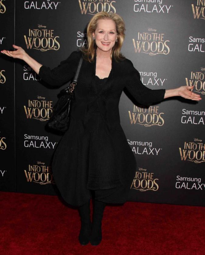 Meryl Streep : en mode sorcière sympa pour la première de son nouveau film !