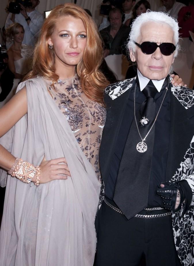 Karl Lagerfeld a offert à Blake un contrat en or !