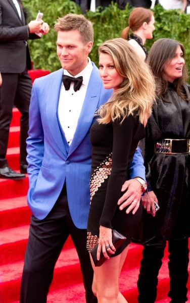 Gisele Bundchen et son mari Tom Brady