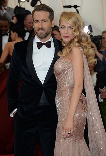 Ryan Reynolds et Blake Lively à New York le 5 mai 2014