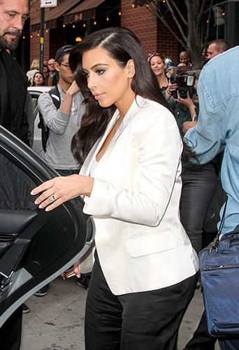 Kim Kardashian à New York le 5 mai 2014