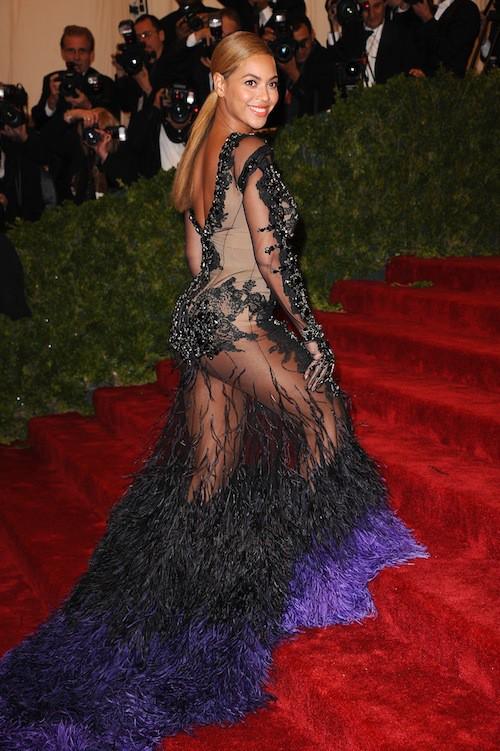 Beyoncé lors du Met Ball de 2012